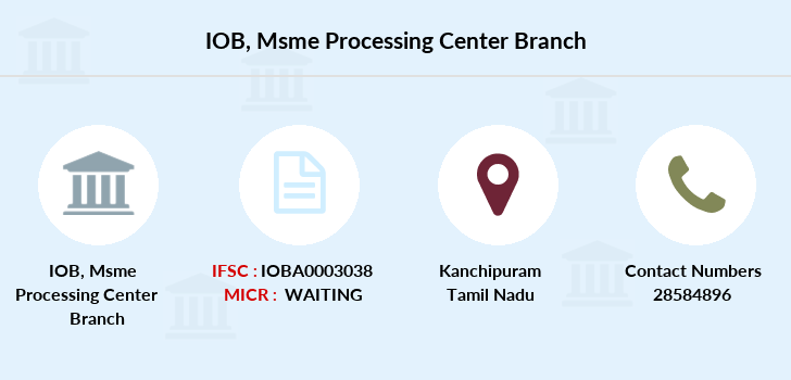 Indian-overseas-bank Msme-processing-center branch