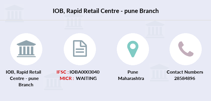 Indian-overseas-bank Rapid-retail-centre-pune branch