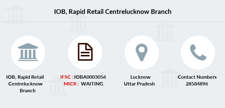 Indian-overseas-bank Rapid-retail-centrelucknow branch