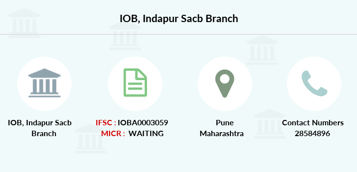 Indian-overseas-bank Indapur-sacb branch