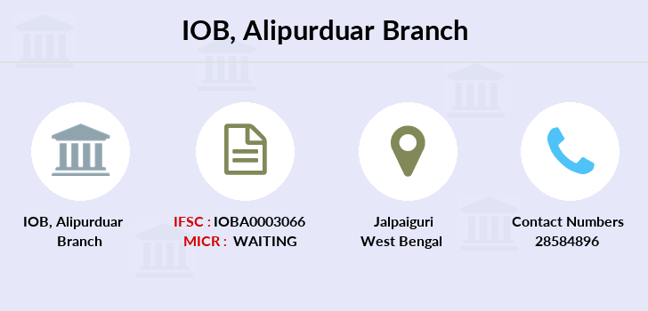 Indian-overseas-bank Alipurduar branch