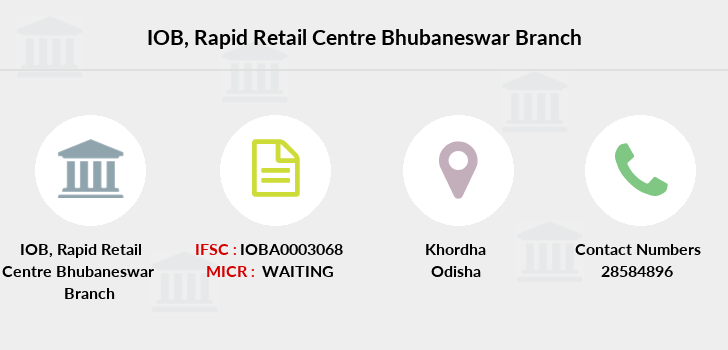 Indian-overseas-bank Rapid-retail-centre-bhubaneswar branch