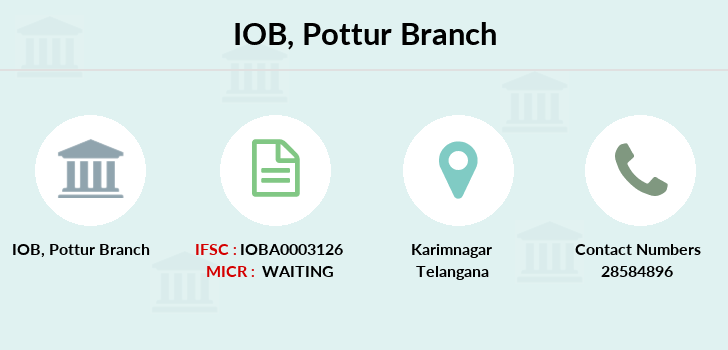 Indian-overseas-bank Pottur branch