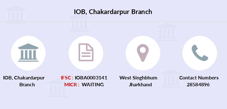 Indian-overseas-bank Chakardarpur branch