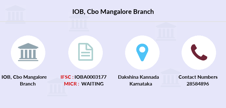 Indian-overseas-bank Cbo-mangalore branch