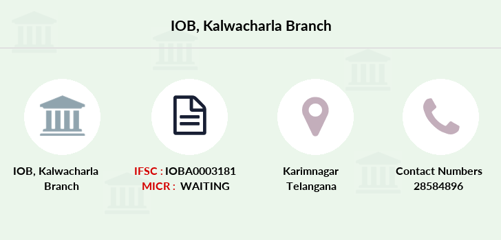 Indian-overseas-bank Kalwacharla branch