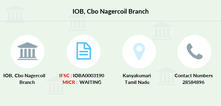 Indian-overseas-bank Cbo-nagercoil branch