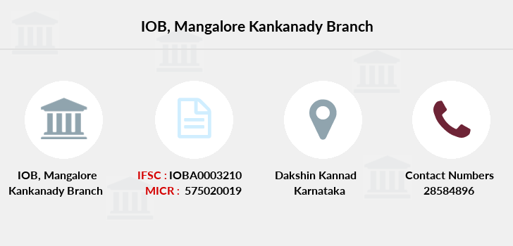 Indian-overseas-bank Mangalore-kankanady branch