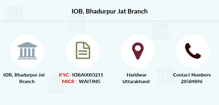 Indian-overseas-bank Bhadurpur-jat branch