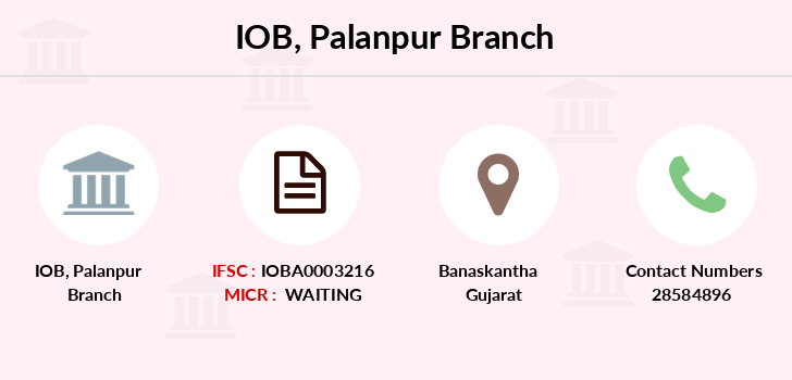 Indian-overseas-bank Palanpur branch