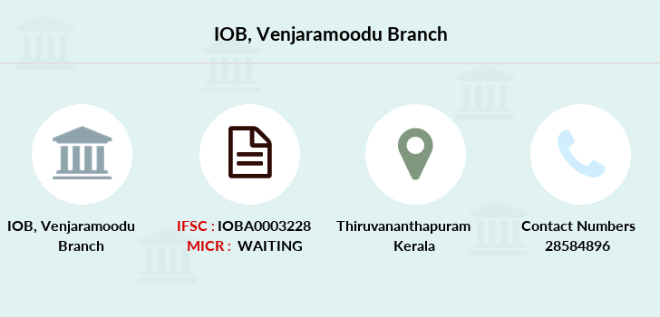 Indian-overseas-bank Venjaramoodu branch