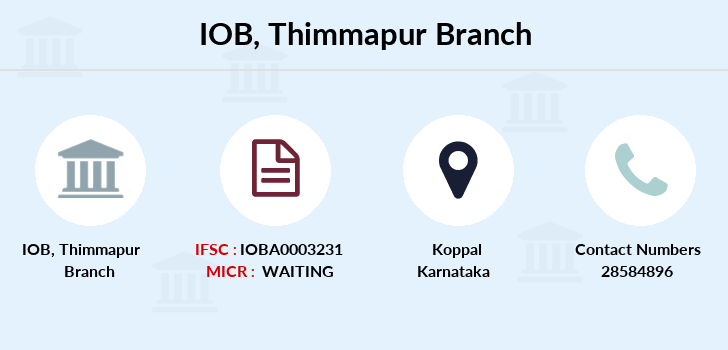 Indian-overseas-bank Thimmapur branch