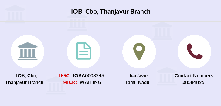 Indian-overseas-bank Cbo-thanjavur branch