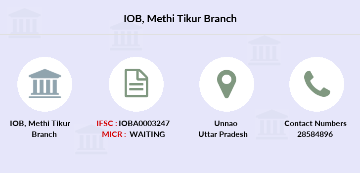 Indian-overseas-bank Methi-tikur branch
