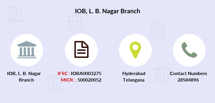 Indian-overseas-bank L-b-nagar branch