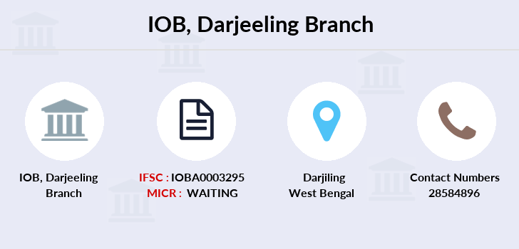 Indian-overseas-bank Darjeeling branch