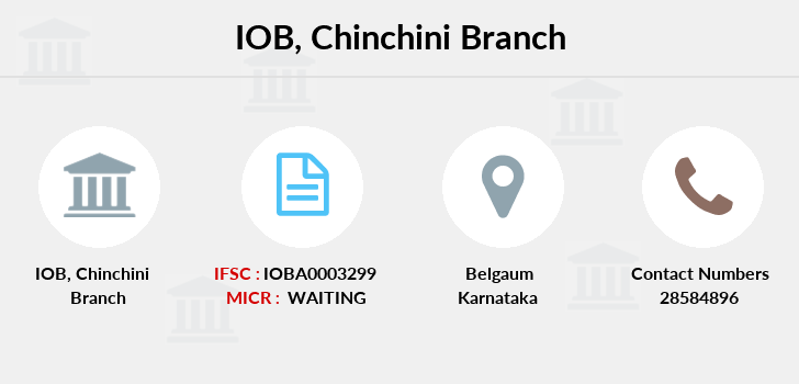 Indian-overseas-bank Chinchini branch
