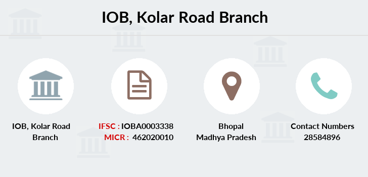 Indian-overseas-bank Kolar-road branch