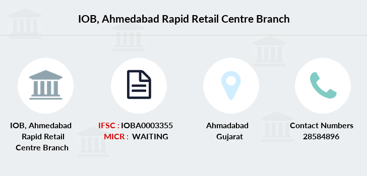 Indian-overseas-bank Ahmedabad-rapid-retail-centre branch