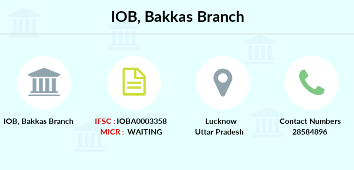 Indian-overseas-bank Bakkas branch