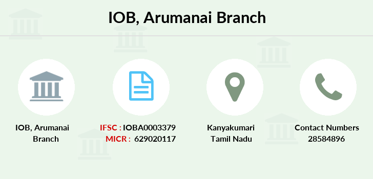 Indian-overseas-bank Arumanai branch