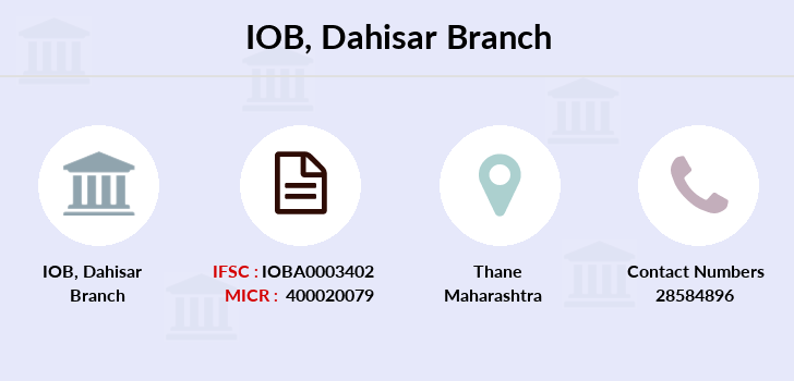 Indian-overseas-bank Dahisar branch