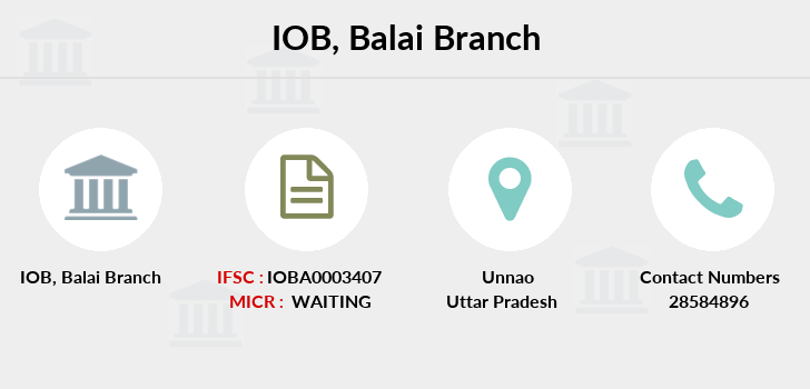 Indian-overseas-bank Balai branch