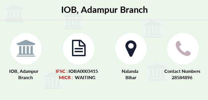 Indian-overseas-bank Adampur branch