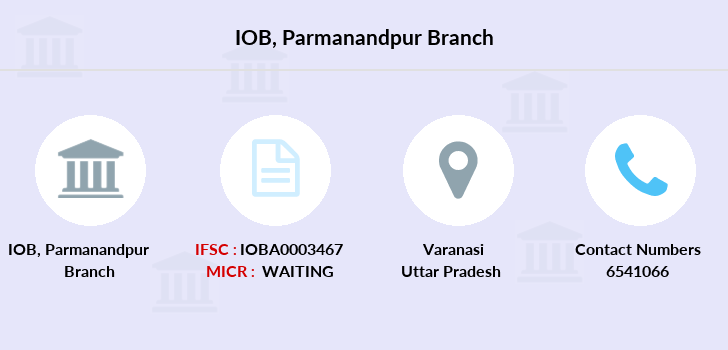 Indian-overseas-bank Parmanandpur branch