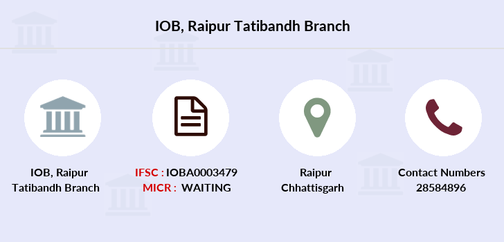 Indian-overseas-bank Raipur-tatibandh branch