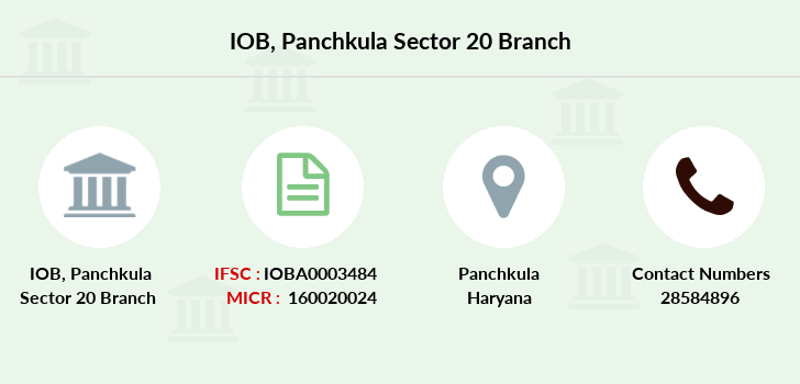 Indian-overseas-bank Panchkula-sector-20 branch