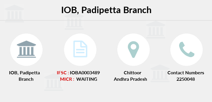 Indian-overseas-bank Padipetta branch