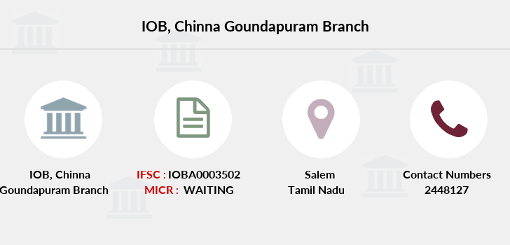 Indian-overseas-bank Chinna-goundapuram branch