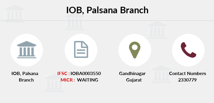 Indian-overseas-bank Palsana branch