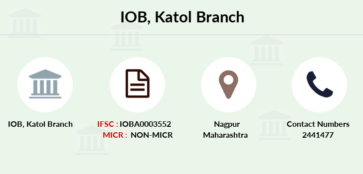 Indian-overseas-bank Katol branch