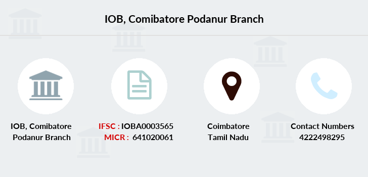 Indian-overseas-bank Comibatore-podanur branch