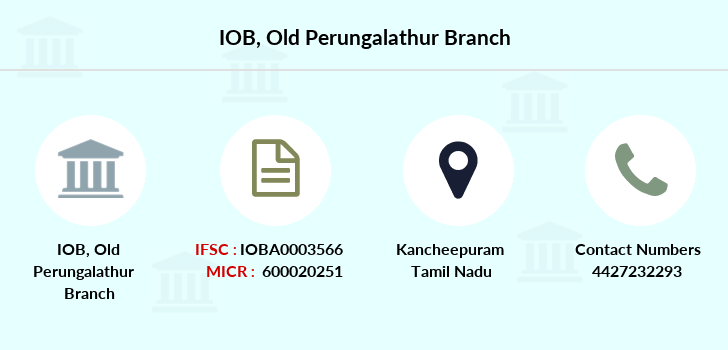 Indian-overseas-bank Old-perungalathur branch