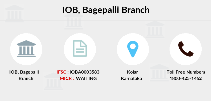 Indian-overseas-bank Bagepalli branch
