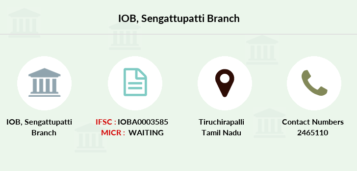 Indian-overseas-bank Sengattupatti branch