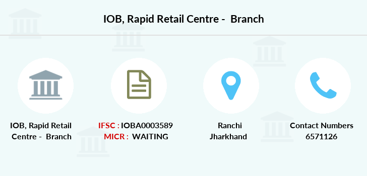 Indian-overseas-bank Rapid-retail-centre branch