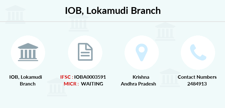 Indian-overseas-bank Lokamudi branch