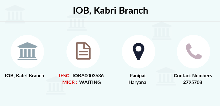Indian-overseas-bank Kabri branch