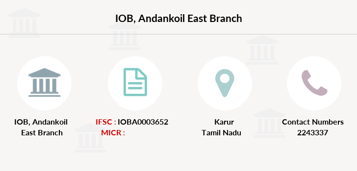 Indian-overseas-bank Andankoil-east branch
