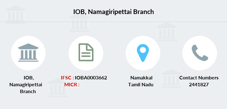 Indian-overseas-bank Namagiripettai branch
