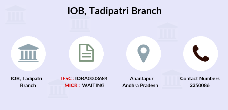 Indian-overseas-bank Tadipatri branch