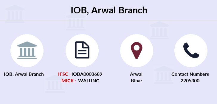Indian-overseas-bank Arwal branch