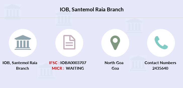Indian-overseas-bank Santemol-raia branch