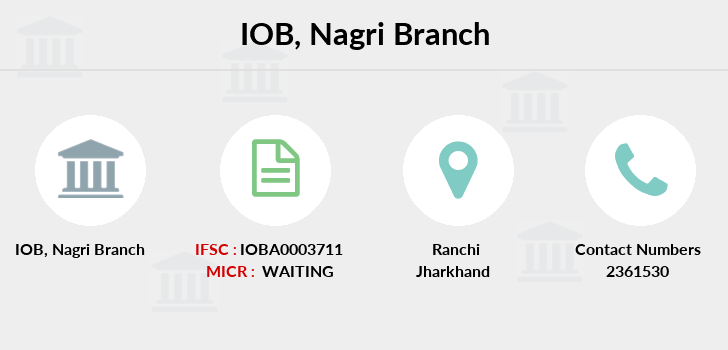 Indian-overseas-bank Nagri branch