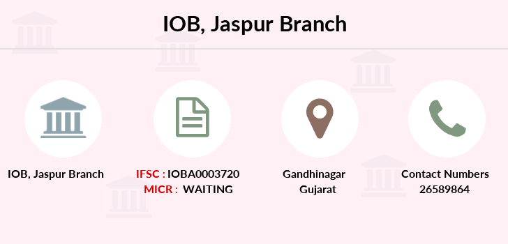 Indian-overseas-bank Jaspur branch
