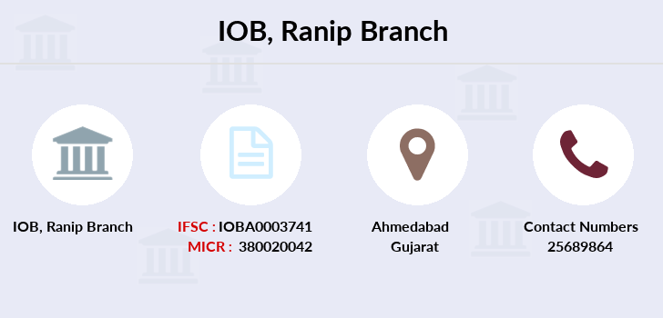 Indian-overseas-bank Ranip branch